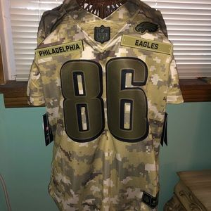 new concept 2ee2d 71641 Salute to Service Zach Ertz Eagles Jersey NWT